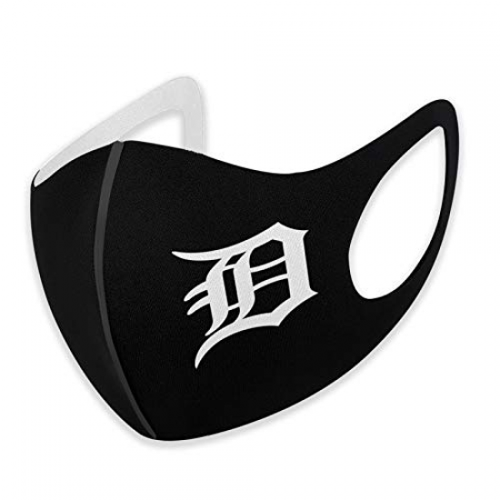 MLB Detroit Tigers Logo Outdoor Bandanas,Decorative Masks,Mouth Guard,Balaclava,Neck Gaiter Dustproof Scarf,Face Cover, For MLB Team Detroit Tigers face cover